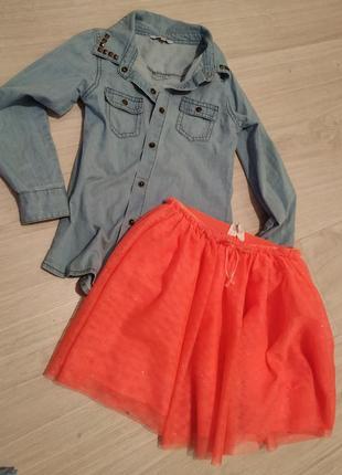 Красивая юбка-пачка h&m