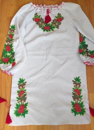 Нове вишите платтячко