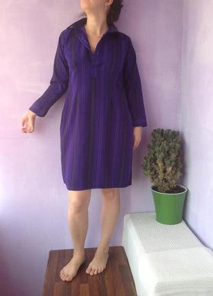 Восточный индийский стиль платье - туника в рубашечном стиле 38-40-42 размер