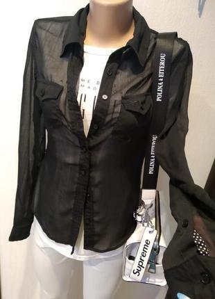 8f9fd1152ffc Прозрачные женские рубашки 2019 - купить недорого вещи в интернет ...