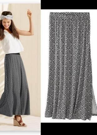 Длинная макси юбка с размером esmara