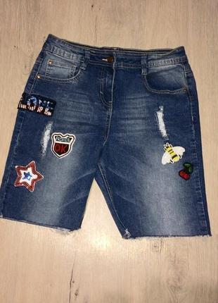 Стильные шорты с нашивками george