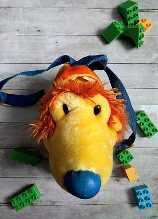 Детский рюкзак-игрушка.