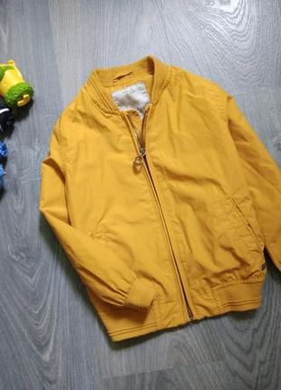 4-5л zara бомбер ветровка куртка2 фото