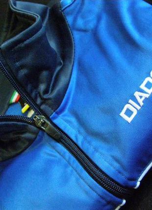 Мастерка олимпийка кофта diadora -164  (мужской xs)