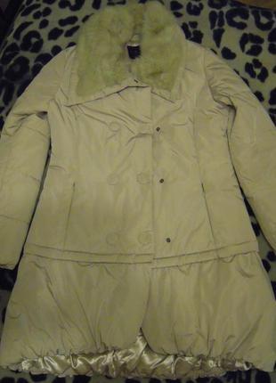 Пальто куртка 2 в 1 piazza italia