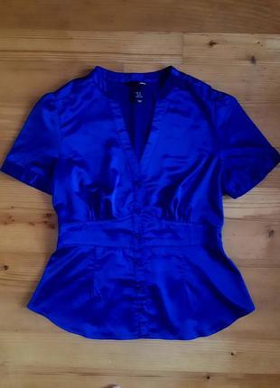 Блуза цвета электрик