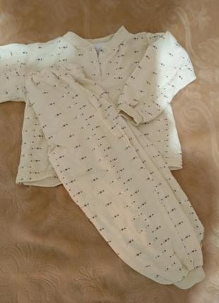 Пижама на 3-4года унисекс