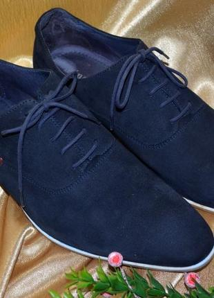 98d53e56d Стильные, классические, модные мужские туфли от minelli из натуральной замши