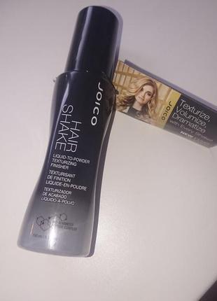 Жидкая пудра для волос joico hair shake liquid to powder finishing texturizer
