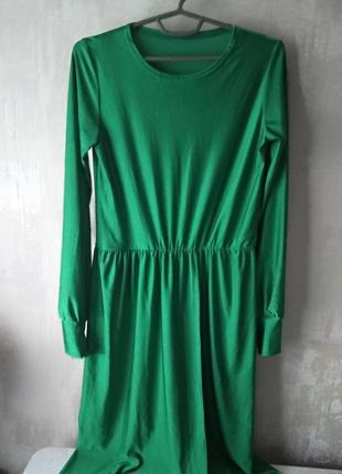 Обалденное платье в пол на запах