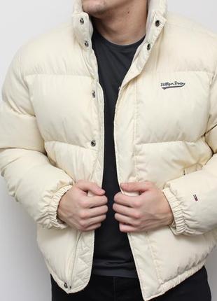 Оригинальный мужской пуховик куртка tommy hilfiger