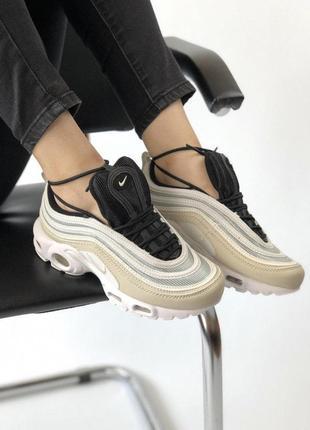 Шикарные кроссовки nike air max в стильном дизайне (весна-лето-осень)😍