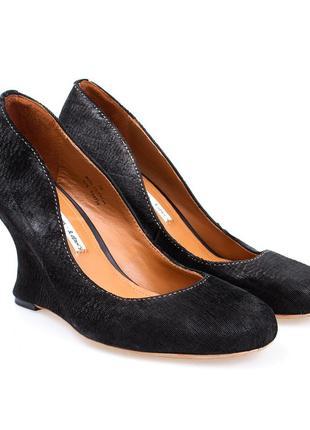 Стильные туфли на платформе из натуральной жатой кожи & other stories