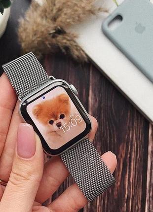 Ремешок миланская петля для часов apple watch