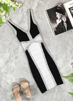 Коктейльное платье из утягивающего трикотажа  dr1927109  lipsy