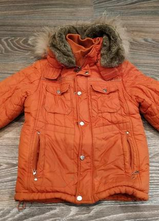 Куртка зимняя кико kiko 9 лет 134 см