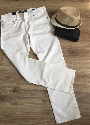 Летние мужские джинсы цвета шампань