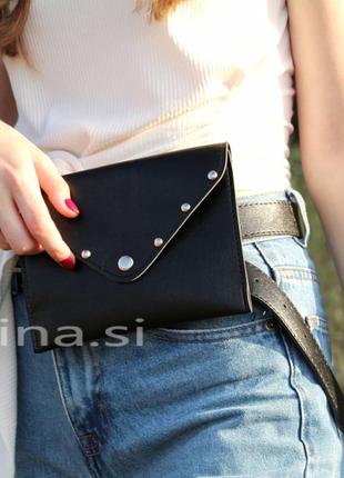 15 расцветок сумка на пояс черная поясная сумочка клатч конверт
