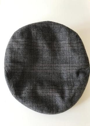 Кепка мужская шерстяная демисезонная дорогой бр енд firenze italy размер 60 или xl