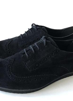 3625 туфлі clarks uk5,5d / eu38 замш сток3 фото