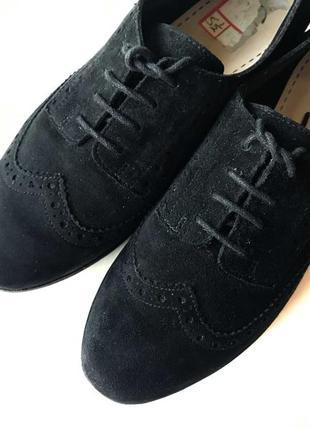 3625 туфлі clarks uk5,5d / eu38 замш сток5 фото