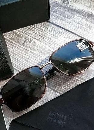 Мужские очки mont blanc комплект