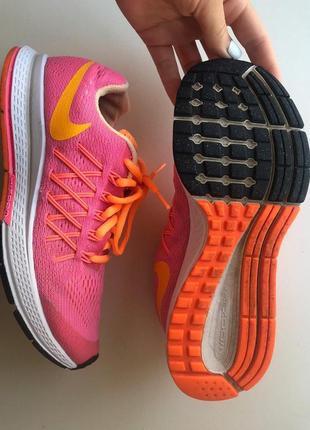 Спортивные беговые кроссовки nike zoom pegasus 32  размер 36 - 22.5-234 фото