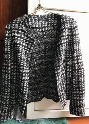 Пиджак шелк шерсть котон