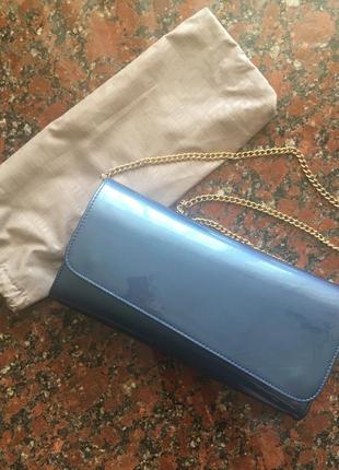 Клатч сумочка на цепочке fellini