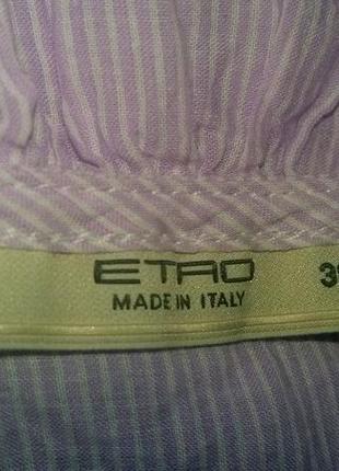 Стильная модная блузка от бренда etro.италия .оригинал5 фото