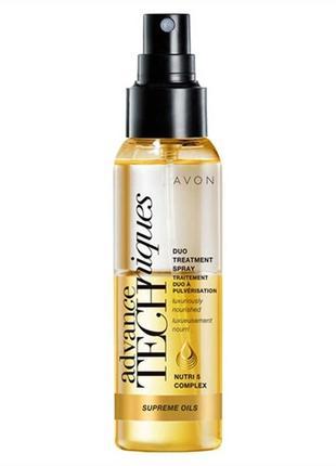 """Двухфазная сыворотка-спрей для всех типов волос """"драгоценные масла"""", 100 мл"""