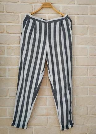 Классные,стильные, натуральные штаны с кармашками