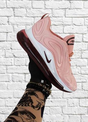 Стильные кроссовки 🔥 nike air max 720 pink white  🔥