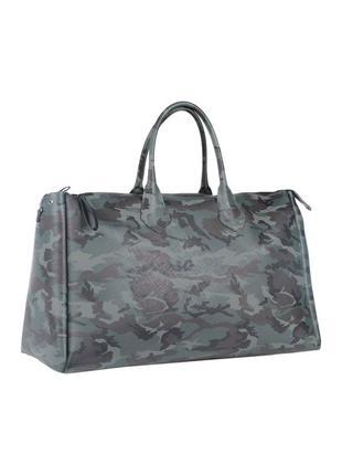 Итальянская стильная прорезиненная сумка gianni chiarini камуфляж