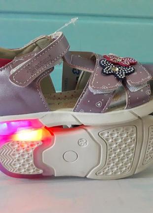 Босоножки светящиеся сандали