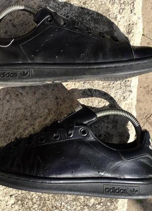 Кроссовки adidas stan smith кожаные
