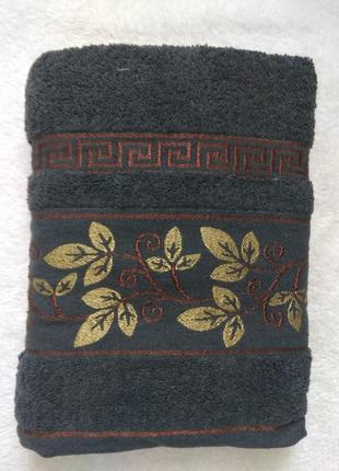 Махровое полотенце 70х140 см