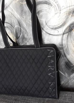 Средняя плотная сумка, для ноутбука, бумаг,инструментов, на тренировку, mary kay мери кей