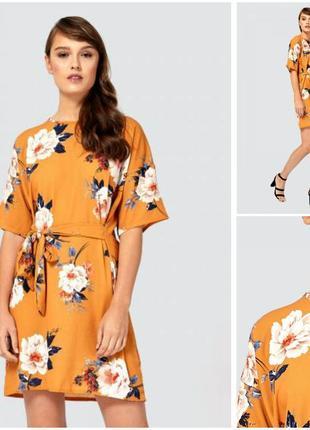 Летнее легкое платье в цветы2 фото