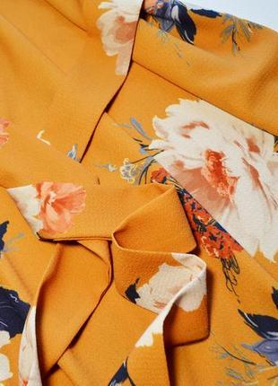 Летнее легкое платье в цветы3 фото