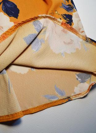 Летнее легкое платье в цветы5 фото