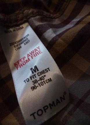 Брендовая рубашка topman4 фото