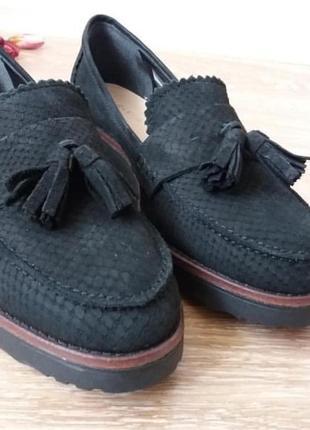 Балетки туфли кожаные caravelle оригинал размер 39