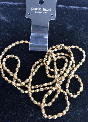 Бусы колье ожерелье бижутерия paolo truzzi