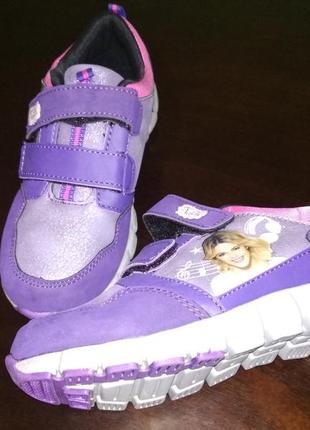 Кроссовки для девочки disney