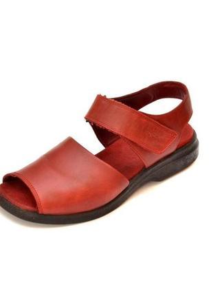 Кожаные сандалии ecco shoсk point. стелька 24 см