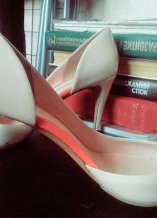 Новые кожаные туфли carlo pazolini