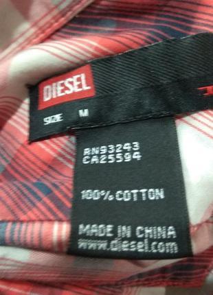 Рубашка хлопок diesel8 фото