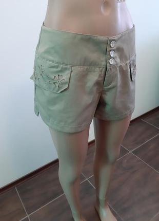 Новые коттоновые шорты италия